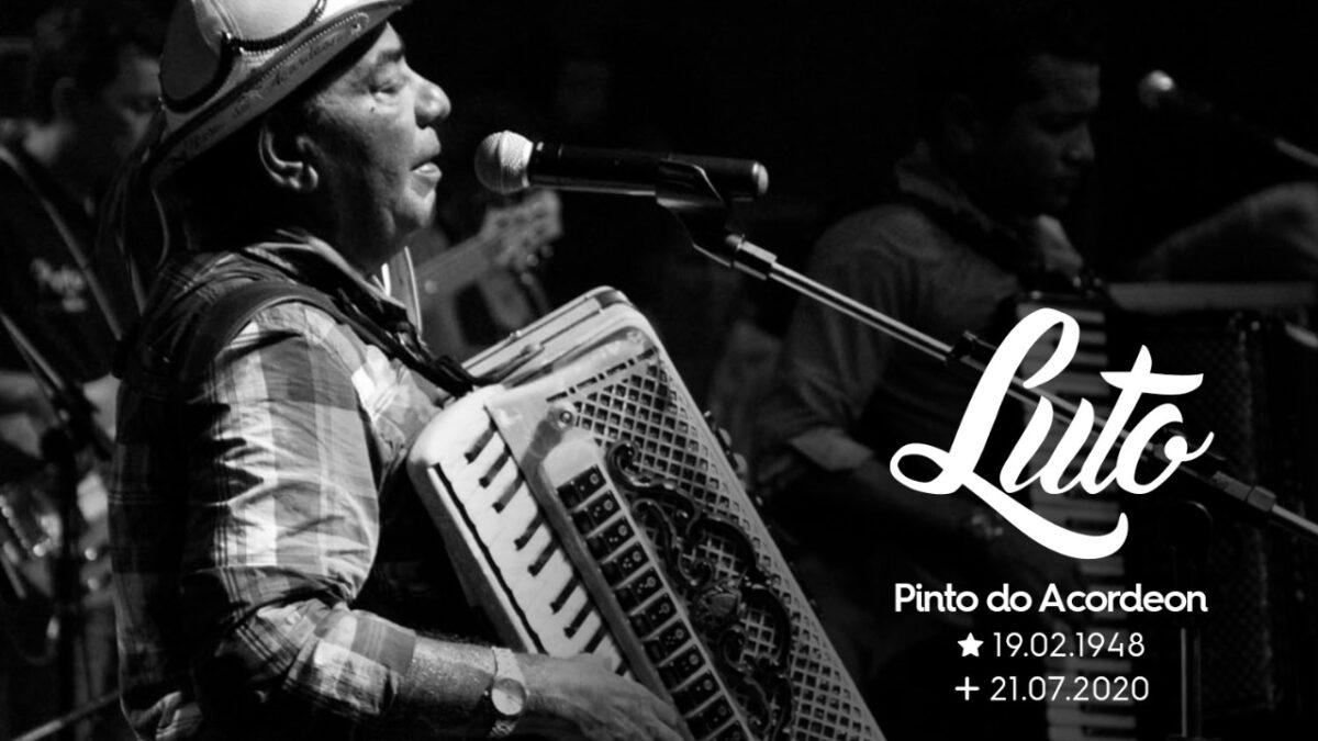 Nota: Deputado Taciano Diniz Lamenta a morte de Pinto do Acordeon, filho ilustre do Vale do Piancó