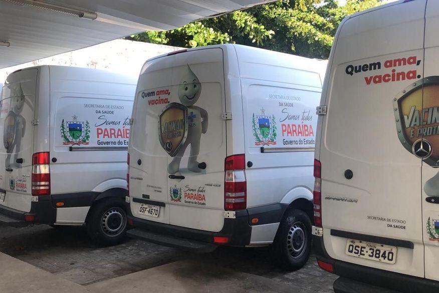 Paraíba inicia distribuição de 56.400 doses da Coronavac para municípios